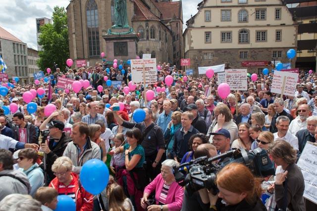 DEMO FÜR ALLE in Stuttgart am 21. Juni 2015, Foto: demofueralle.de